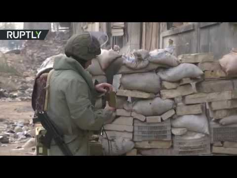 Demining Aleppo: Russian sappers remove mines and IEDs in Syrian school