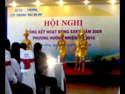Tourane hotel Mua champa tong ket cuoi nam 2009.mp4