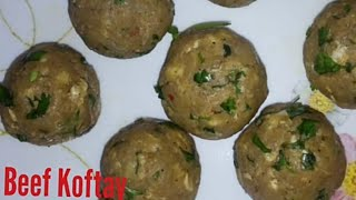Frozen Koftay recipe by Cooking with rajput