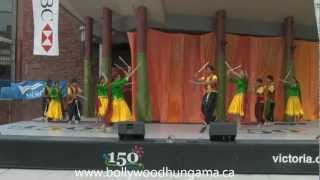 Bollywood Hungama - Dum Dum Dhol Baaje - Garba Dandiya at Victoria India Mela