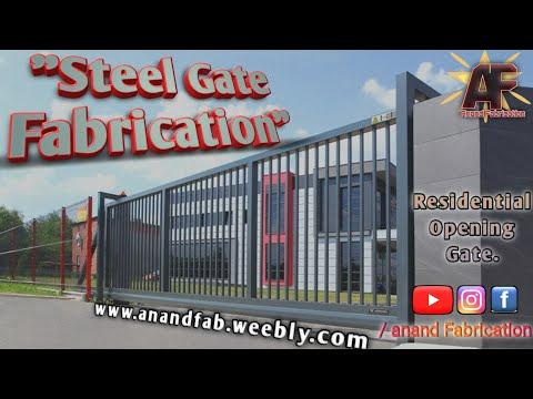 Steel Gate Fabrication.