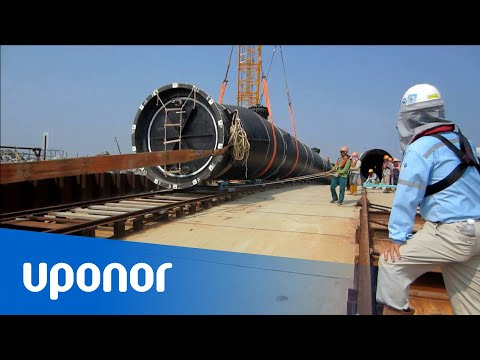 Uponor Infra, Weholite marine outfall in Vietnam
