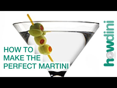 How to make a good martini recipe