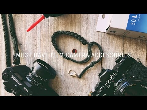 6 MUST HAVE FILM PHOTOGRAPHY ACCESSORIES! (Feat. @Themoregooder)