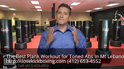 Plank Workout for Toned Abs Mt Lebanon PA