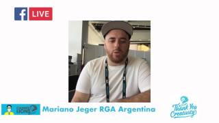Mariano Jeger R GA Argentina en Cannes Lions 2016