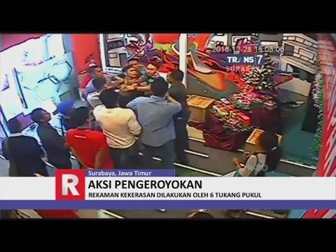 Customer Service Dihajar 6 Tukang Pukul hingga Tak Berdaya