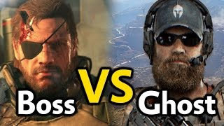 Ghost vs. Boss مقارنة