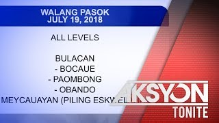 WALANG PASOK (July 19, 2018)
