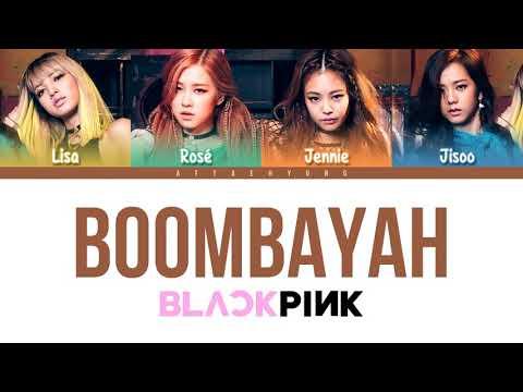 blackpink-boombayah-lyrics
