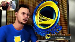 Can I Recreate Stephen Curry's 40 Point Performance in the NBA Season Opener? NBA2K Gameplay