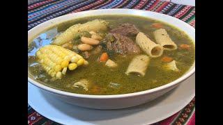 Sopa Menestron Cocinando ando!!  quarentine-- cuarentena