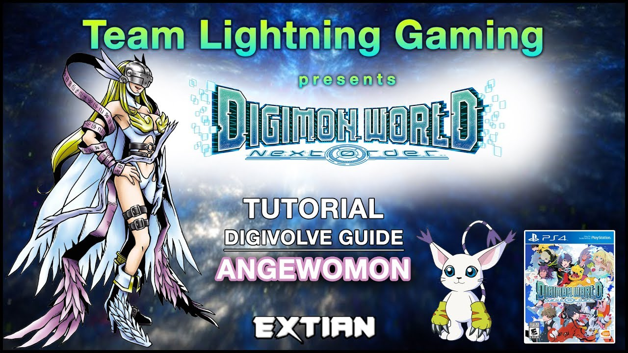 Ps4 Digimon World Next Order Digivolution Guide Angewomon