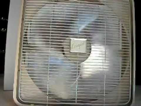 Vintage Frigid 20 Quot Box Fan Model P 20 3 Speeds