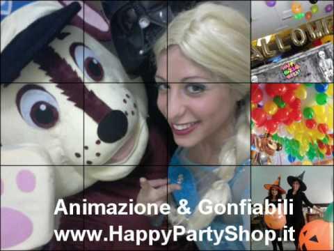 Animazione Eventi per Bambini  Noleggio Gonfiabili Happy Party Shop