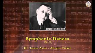 Symphonic Dances, Op. 45—Sergei Rachmaninoff