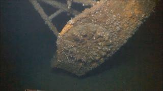 戦艦大和の海中映像公開 菊の紋章などが鮮明に