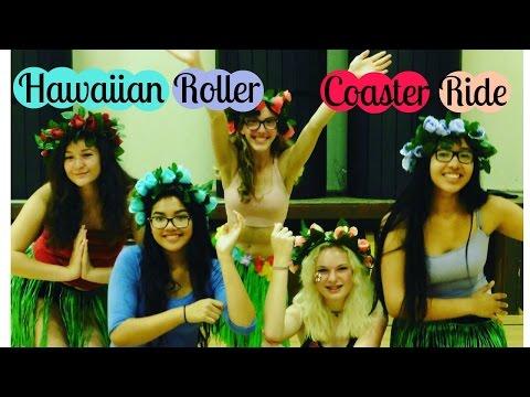 Hawaiian Roller Coaster Ride Dance