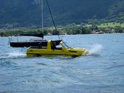Dutton Amphijeep in waves!
