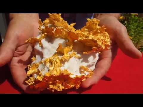 Massive 109 oz Gold Nugget Specimen Discovered in Australia