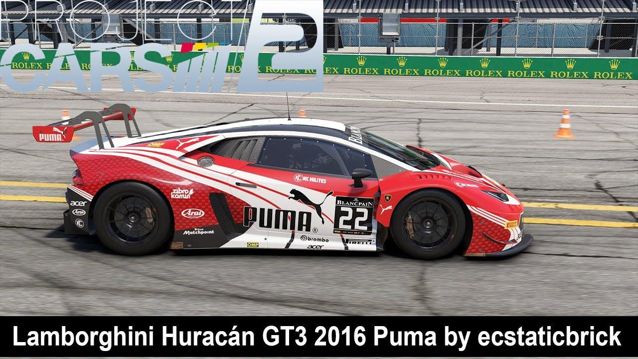 Project CARS 2 - Lamborghini Huracán GT3 2016 Puma by ecstaticbrick ... 026d0e12e