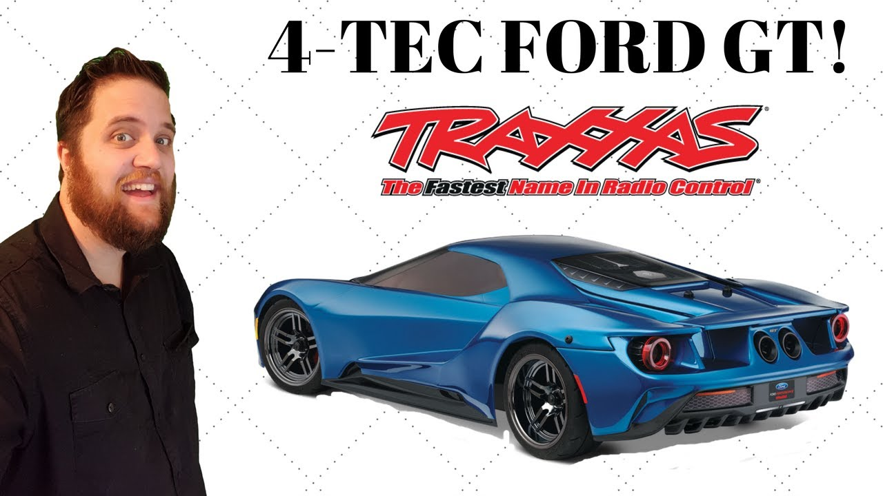 Traxxas   Ford Gt Unboxing First Look