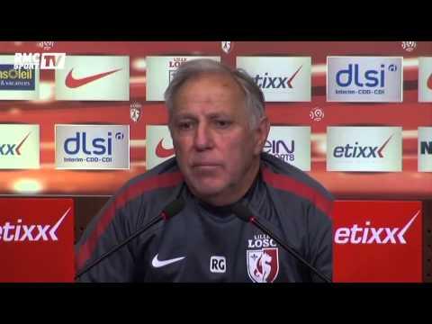 Football / Girard s'agace en conférence de presse - 30/10