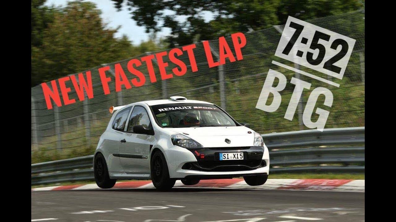 My Fastest Lap 7 52 Btg Clio 200 Rs Under8 Nürburgring Nordschleife 30 09 2018