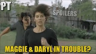 The Walking Dead Season 7 Episode 14 Spoilers Maggie & Daryl In Trouble? TWD 714