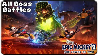 Epic Mickey 2 The Power of Two All Bosses