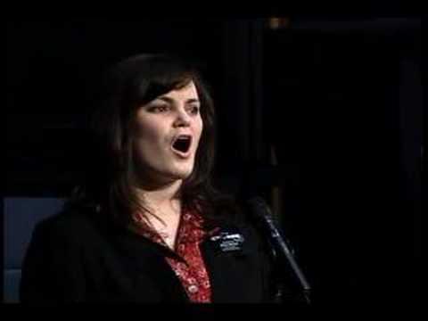 Loni Hawkins sings Come Ye Disconsolate