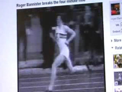Roger Bannister Breaks the 4 minute mile