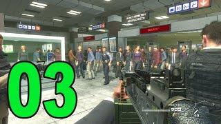 Modern Warfare 2 - Part 3 - No Russian Terminal Massacre (Let