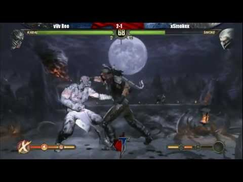 MK9: vVv REO (Kabal) vs xSmokex (Smoke) (Toryuken-Road to EVO (19.May.2012)LF