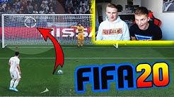 Fifa 20: DEMO Gameplay! Ultra spannendes 11 METER schießen vs. BRUDER! - Ultimate Team (Deutsch)