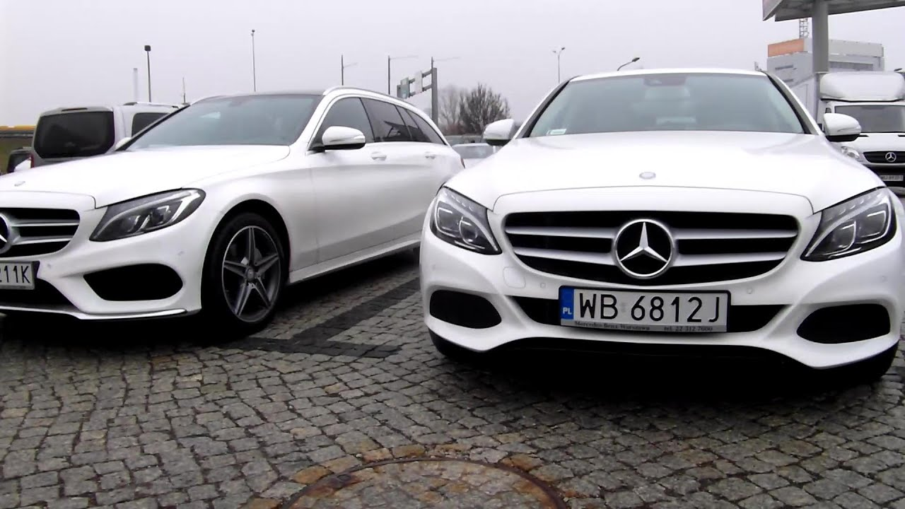 2015 Mercedes C-Class W205 Funny thing Spotted AC Engine Temperature  Problem a joke ?