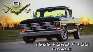 1969 Ford F100 / 2002 Ford Lightning 5.4 Chassis Swap Is Finished! Video Part 6 of 6 V8TV
