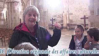 Visite de la basilique de Vézelay (89).