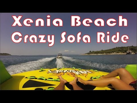 crazy sofa ride buy a bed xenia golden beach kassandra greece youtube