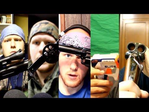 [ASMR] A Look At Some Of Dalton's Guns 1-5 Compilation (Enhanced Audio)