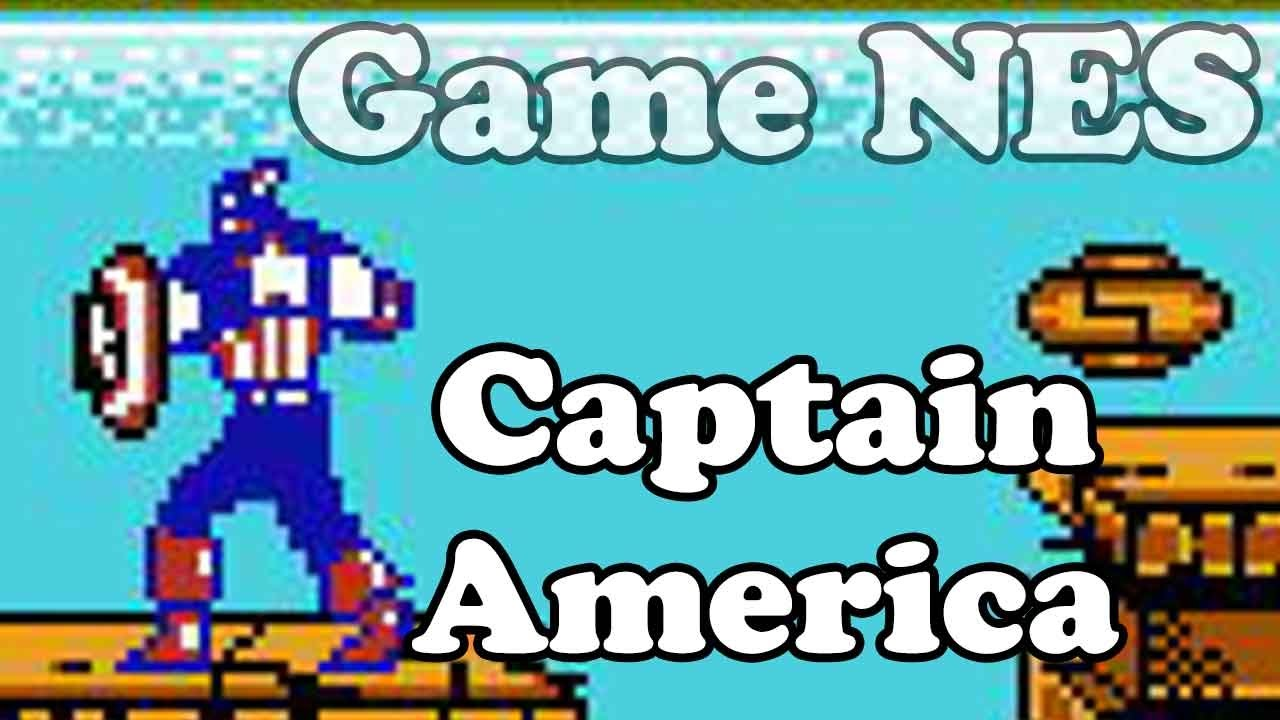 Captain America and the Avengers – Nes Games – Điện tử 4 nút