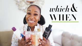 TYPES OF SHAMPOO FOR NATURAL HAIR - Every girl should have + My Favourite Shampoos