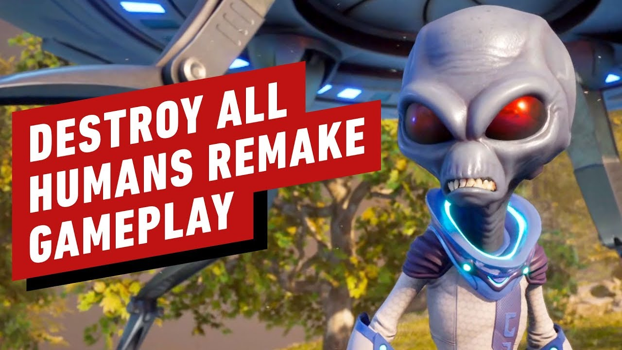 Купить Destroy All Humans