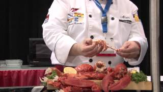 Lobster Master Class At Seafood Expo North America