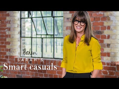 Sips & tips: How to style casual outfits  Sarah's Smart casuals