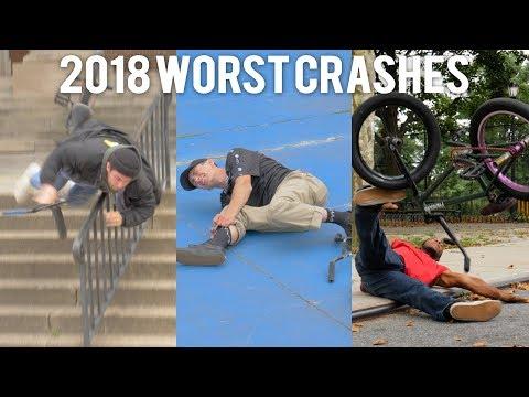 ANTHONY PANZA & FRIENDS | 2018 WORST BMX CRASHES