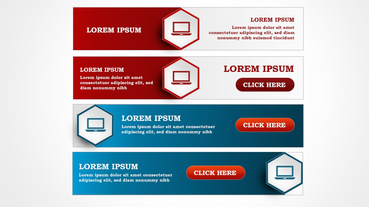 Photoshop banner design learn to design good looking banner for your website