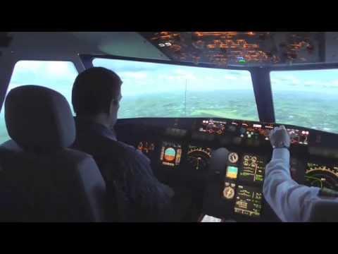 My flight as pilot on an A320 from Brussels to Düsseldorf with @aviasim_fr