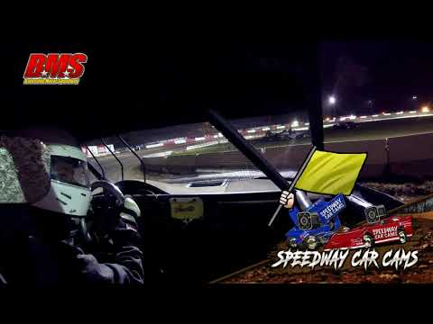 #24 Quincy Brooks - FWD - 9-15-18 Batesville Motor Speedway - In Car Camera