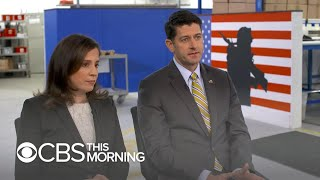 "House Speaker Paul Ryan and Rep. Elise Stefanik on Trump's ""horseface"" comment"